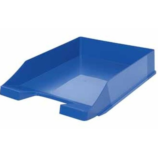 Postbakjeje blauw a4 formaat