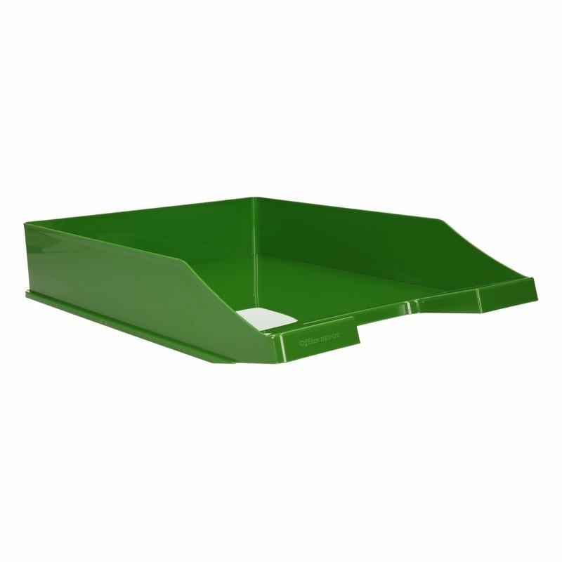 Postbakjeje groen a4 formaat