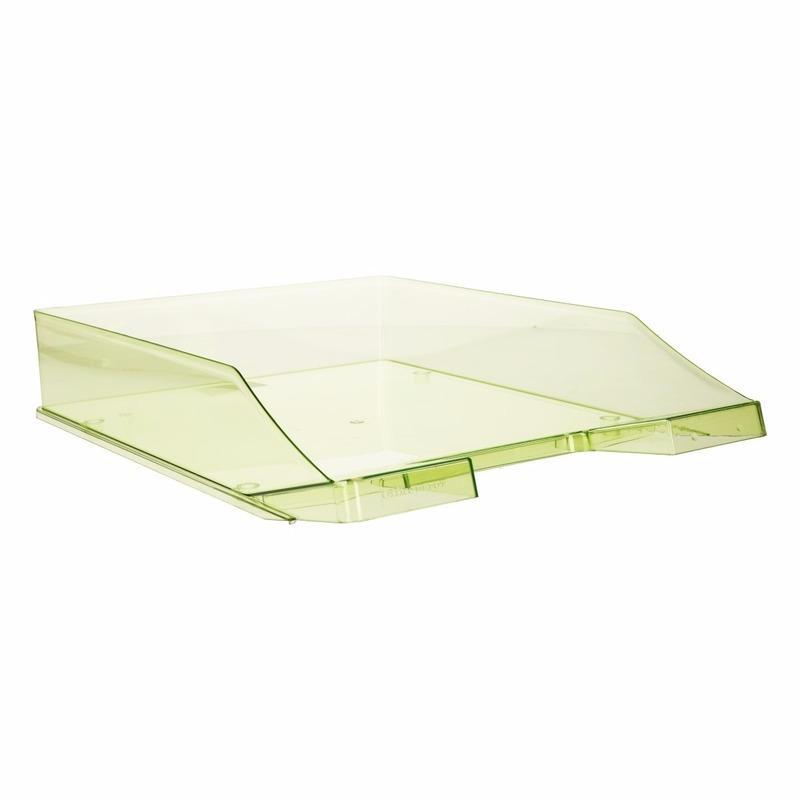 Postbakjeje transparant groen a4 formaat