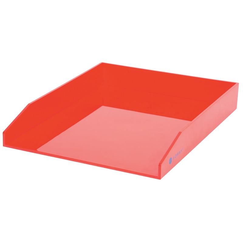 5x postbakjeje rood a4 formaat