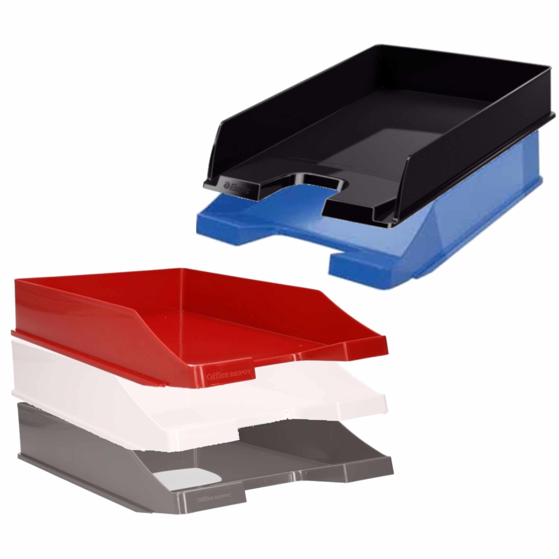 Viking postbakjejes set van 10x stuks a4 formaat 5x kleuren