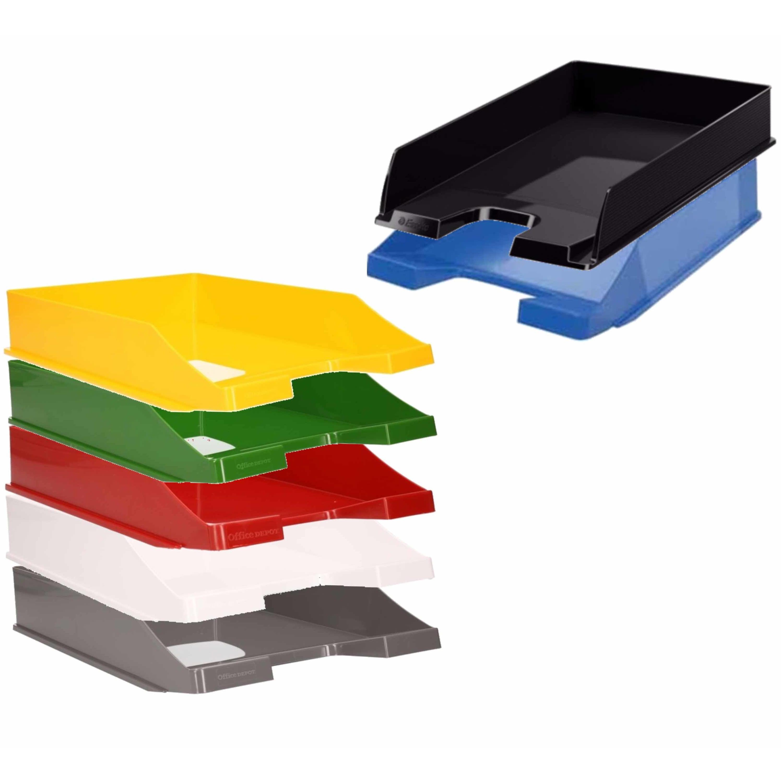 Viking postbakjejes set van 14x stuks a4 formaat 7 kleuren